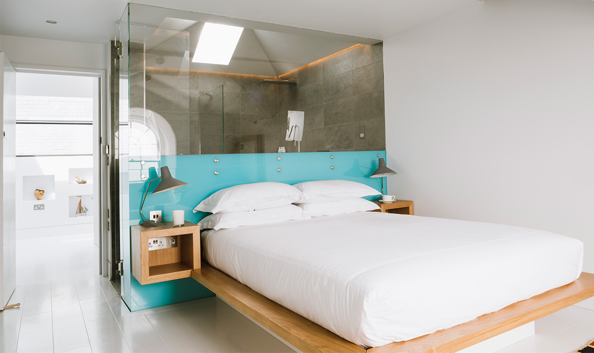 Bedroom five in Chapel House PZ